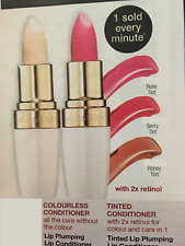 Avon Anew Lip Plumping Lip Conditioner Available in Tinted and Clear