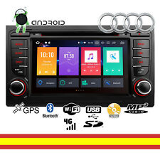 Radio CD Android 8 Octacore 4GB RAM 32GB Audi A4 Seat Exeo Wifi Bluetooth GPS