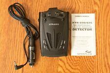 Whistler XTR-695 Radar & Laser Detector