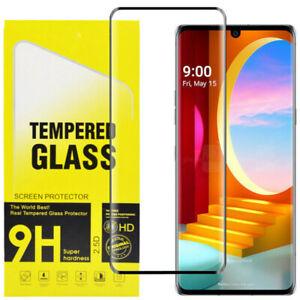 For LG Velvet Premium 3D Curved Tempered Glass Film Screen Protector