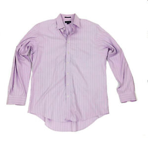 NWOT Lands' End Pinpoint Oxford Tradition Fit Tall 16.5x37