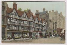London postcard - Old Houses, Holborn, london (A1140)