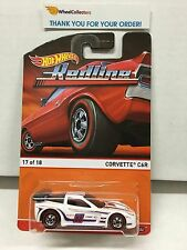 Corvette C6R #17 WHITE * Hot Wheels 2016 Redline Heritage * Z38
