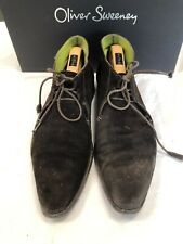 Oliver Sweeney Brown Suede Chukka Boots Size 8