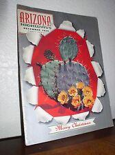 """Prickly pear in Bloom"" Arizona Highways Dec 1959 -Vol.XXXV No.12Magazine"