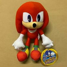"""Sonic the Hedgehog Plush Knuckles 12"""" Inches Authentic Stuff Toy"""