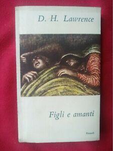 Figli e amanti - D.H. Lawrence, Einaudi, 1948