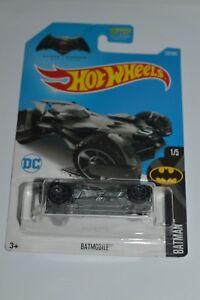 2015 Hot Wheels BAT-MOBILE DC Comics Batman V Superman MIC Sealed 1:64