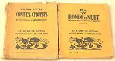 Set of 2 FRENCH La Livre de Demain 1920s Romance
