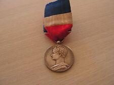 medaille  republique francaise  commerce industrie argent attribuee 1895
