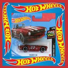 Hot Wheels 2021   TRIUMPH TR6   new color   9/250   NEU&OVP