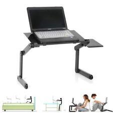 Adjustable Cooling Stand Tray Holder Riser Laptop Desk Table for Bed Sofa Metal