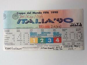 Ticket WM WC Italien 1990 Deutschland - Holland Milano Match 40