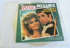 "OLIVIA NEWTON-JOHN & JOHN TRAVOLTA - CD SINGLE PROMO ""THE GREASE MEGAMIX"""