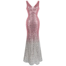 Angel-fashions V Neck Glitter Sequin Gatsby 20s Flapper Party Dress 382