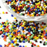 4100pcs Colourful Opaque Glass Seed Beads Tiny Round Smooth 12/0 Loose Beads 2mm