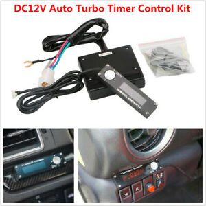 DC12V Universal Car SUV Auto Turbo Timer Control Kit Red LED Digital Display Pen