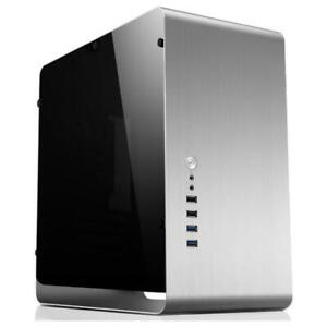 NEW Jonsbo UMX3 Silver mATX Case w/Side Panel Window UMX3.SL.W