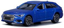 Audi A6 Avant C7 2011-14 Typ: 4G blau blue metallic 1:43 Bburago
