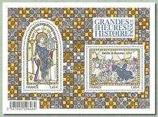 Feuillet F4857 - Les grandes heures de l'histoire de France - 2014