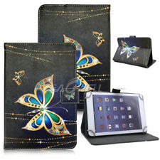 """For 9.7"""" -10.1"""" Tablets Butterfly Universal Leather Case Cover Wireless Keyboard"""