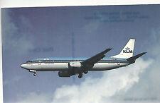 KLM Royal Dutch Airlines  Boeing 737-406  Heathrow London  Unused PC 984 Plane
