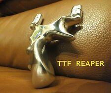 Caza Pro Metal Aluminio Catapulta Slingshot TherabandGold bandas TTF Reaper