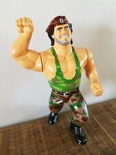 CORPORAL KIRCHNER WWF WWE custom Hasbro Wrestling Figure Wrestlers Retro rare