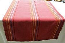 Tischläufer Tischdecke Tischset 47x107 cm rosa pink mit Streifen Landhaus Modern