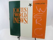 LP Record Single Cactus World News YEARS LATER L33-17112 1986 call letters radio