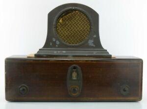 RCA Radiola 18 & RCA Model 100-A Radiola Loud Speaker - Needs Work - Beautiful!