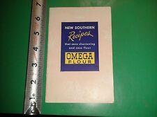 JD693 Vintage Omega Flour Recipe Booklet Rice Waffles