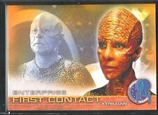 Enterprise Season 1 First Contact Chase Card F12