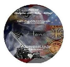 Firefighter EMS Military + Poem Prayer Collection CD