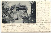 Saverne Zabern France Frankreich CPA 1898 Partie an der Burg Hohbarr Fort