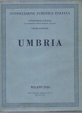 touring club italiano - CTI - attraverso l italia - umbria