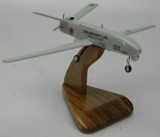 TAI TIHA Turkish AF UAV Airplane Desk Wood Model Regular