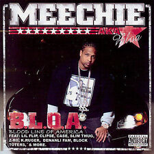 B.L.O.A.: Blood Line Of America [PA] * by Meechie (CD, Mar-2007, BCD) NEW