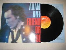 Adam Ant - Friend or foe  Vinyl LP