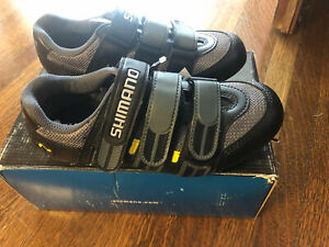 New-in-Box SHIMANO Road/Spin (2-Bolt) Shoes SH-T092 -- Size 37EU, 4.5US, 23.2cm