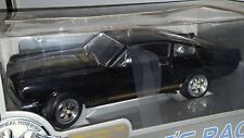1/18 EAGLE'S RACE 1965 FORD MUSTANG 350H HERTZ BLACK with GOLD STRIPES bd