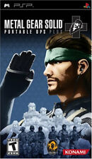Metal Gear Solid: Portable Ops Plus PSP New Sony PSP