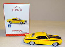 Hallmark 1970 BUICK GSX Keepsake Ornament 2014...Classic American Cars...NIB