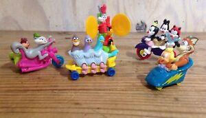 Vintage McDonald Warner Bros Happy Meal Toys Lot of 5 Animaniacs Bugs Bunny