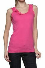 Damen-Trägertops Damenblusen, - tops & -shirts mit Rüschen