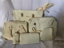 LebQilu Complete Collection Of Handbags, Wallet, Make-up Kit, Etc. Incl: 6 Pcs!