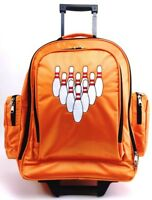 NEW XSTRIKE 1 BALL ROLLER BOWLING BAG ORANGE HOLIDAY PRICE $41.95