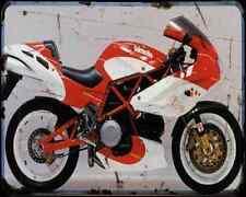 Bimota Db2 93 2 A4 Metal Sign Motorbike Vintage Aged