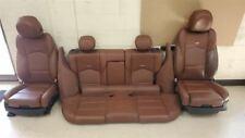 Vecchio Brown Leather Seat Set 14 Cts Sedan V Sport Option Aqj Performance Fits Cts V