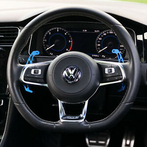 VW Golf MK7 R GTI GTD Blue Replacement Paddle Shifters Paddles Scirocco Polo (I